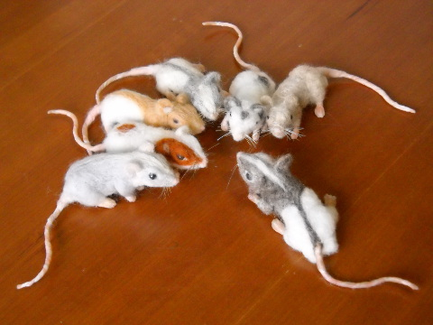 Mouse Litter 6: The Bright-Eyed Mice